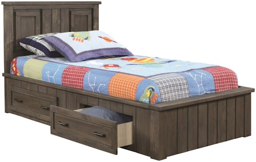 Coaster Napoleon Transitional Full Storage Bed
