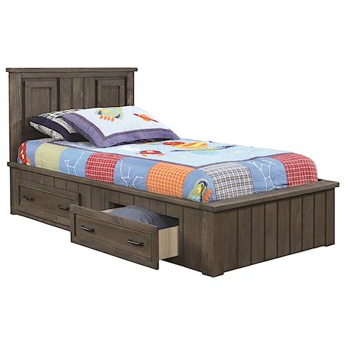 Coaster Napoleon Transitional Full Storage Bed