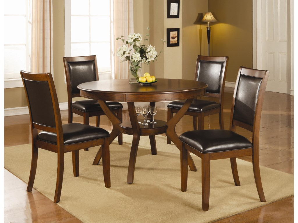 Coaster Nelms5 Piece Table and Chair Set
