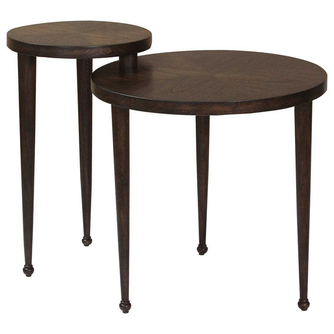 Nesting furniture Outdoor Coaster Nesting Tables Round Nesting Table With Narrow Legs Miskelly Furniture Coaster Nesting Tables Round Nesting Table With Narrow Legs