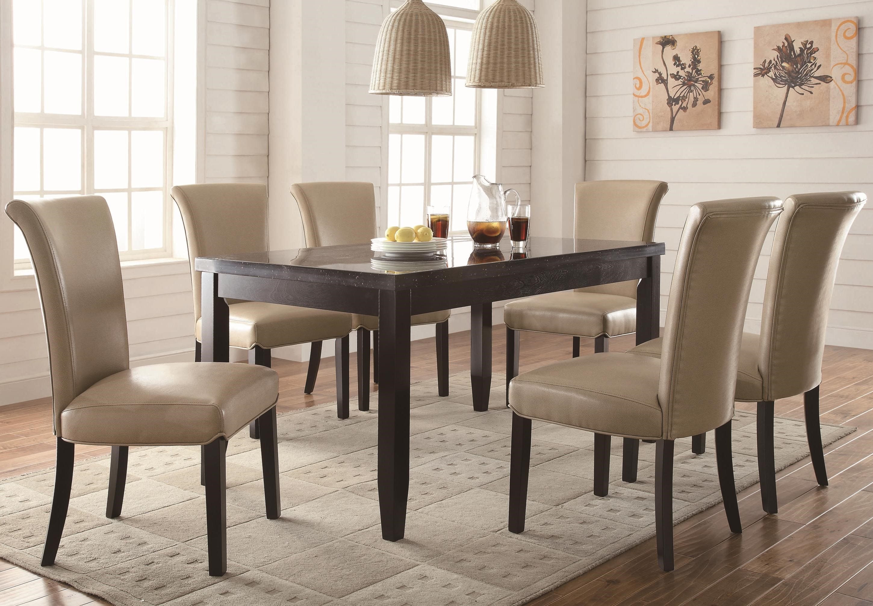 Coaster Newbridge7 Piece Dining Set ...