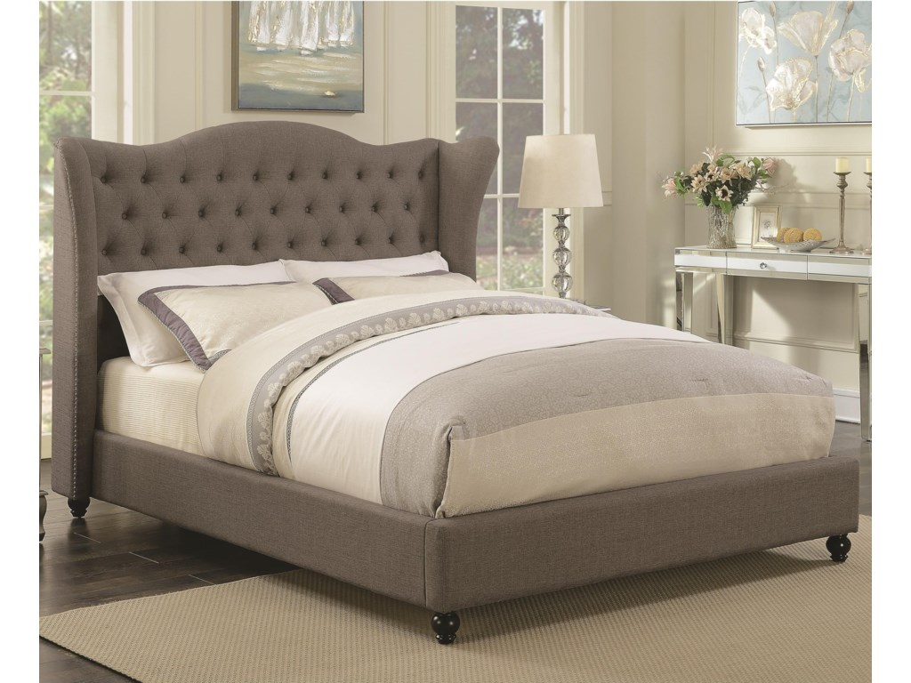 Coaster NewburghQueen Upholstered Bed