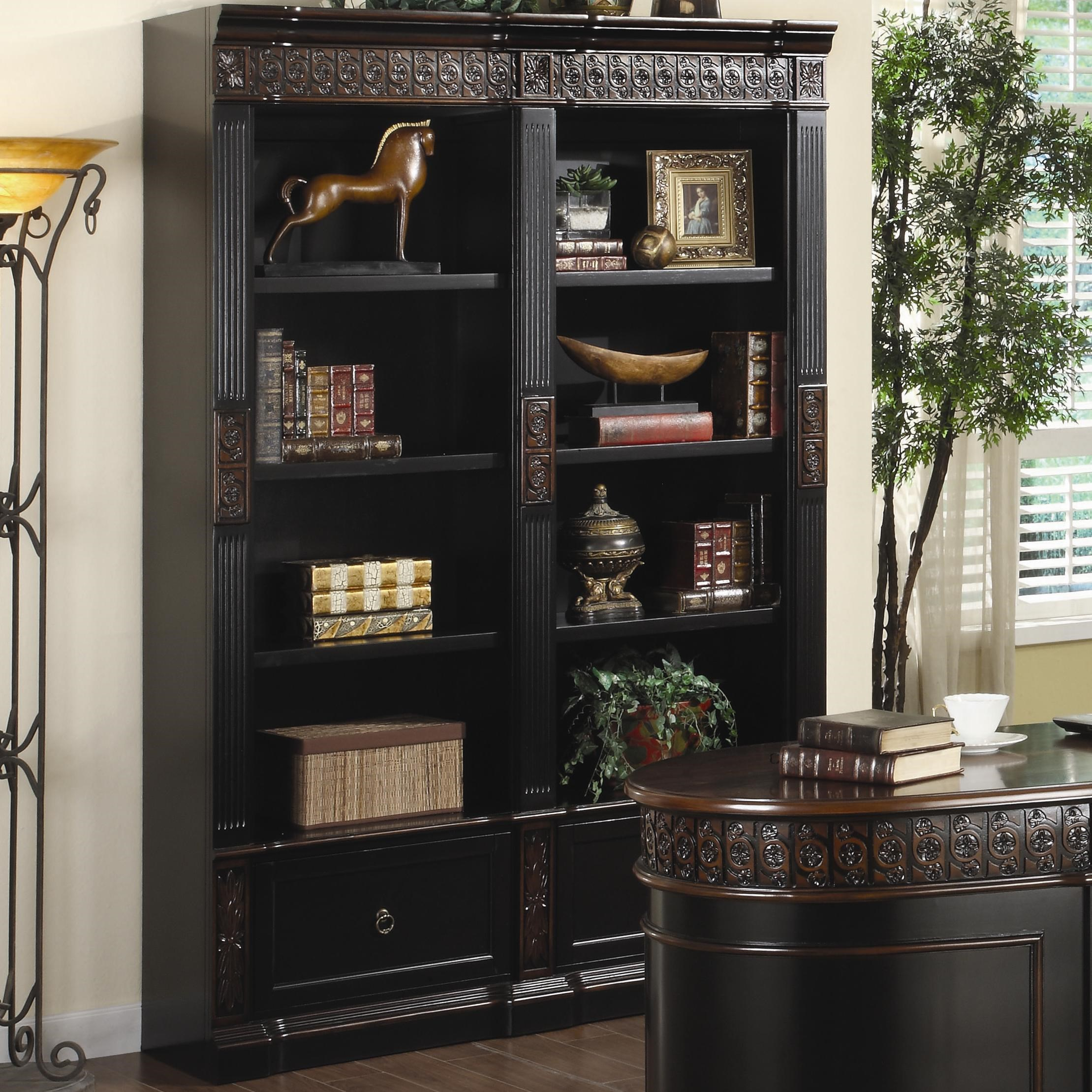 Size 1024x768 home office wall unit Bar Nicolas Traditional Carved Combination Bookcase By Coaster Value City Furniture Coaster Nicolas Traditional Carved Combination Bookcase Value City