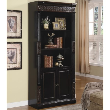 Combination Bookcase