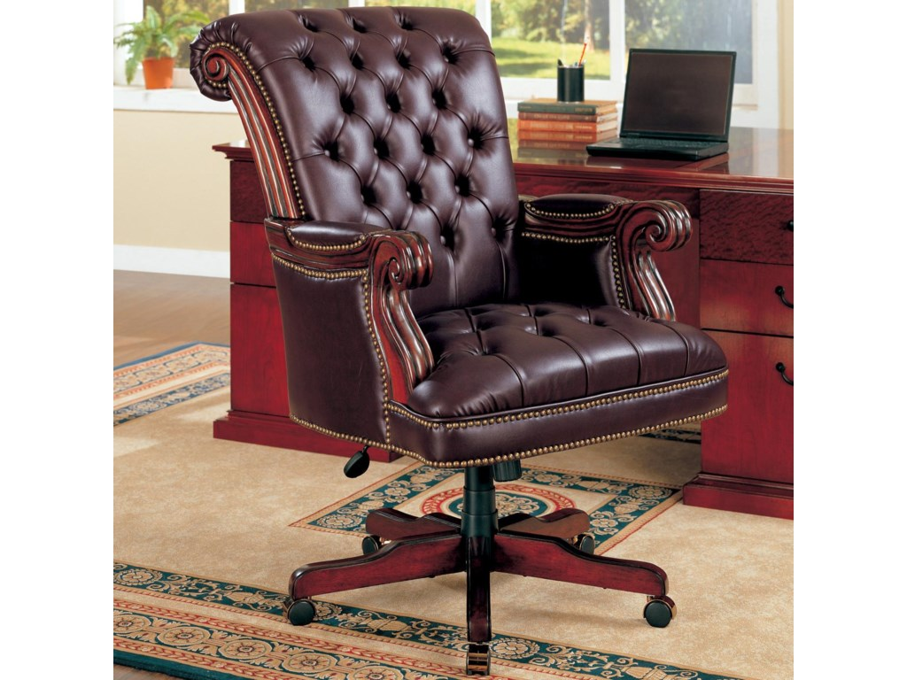 desk related suggestions for gallery wood keywords and leather office brown chair uk chairs