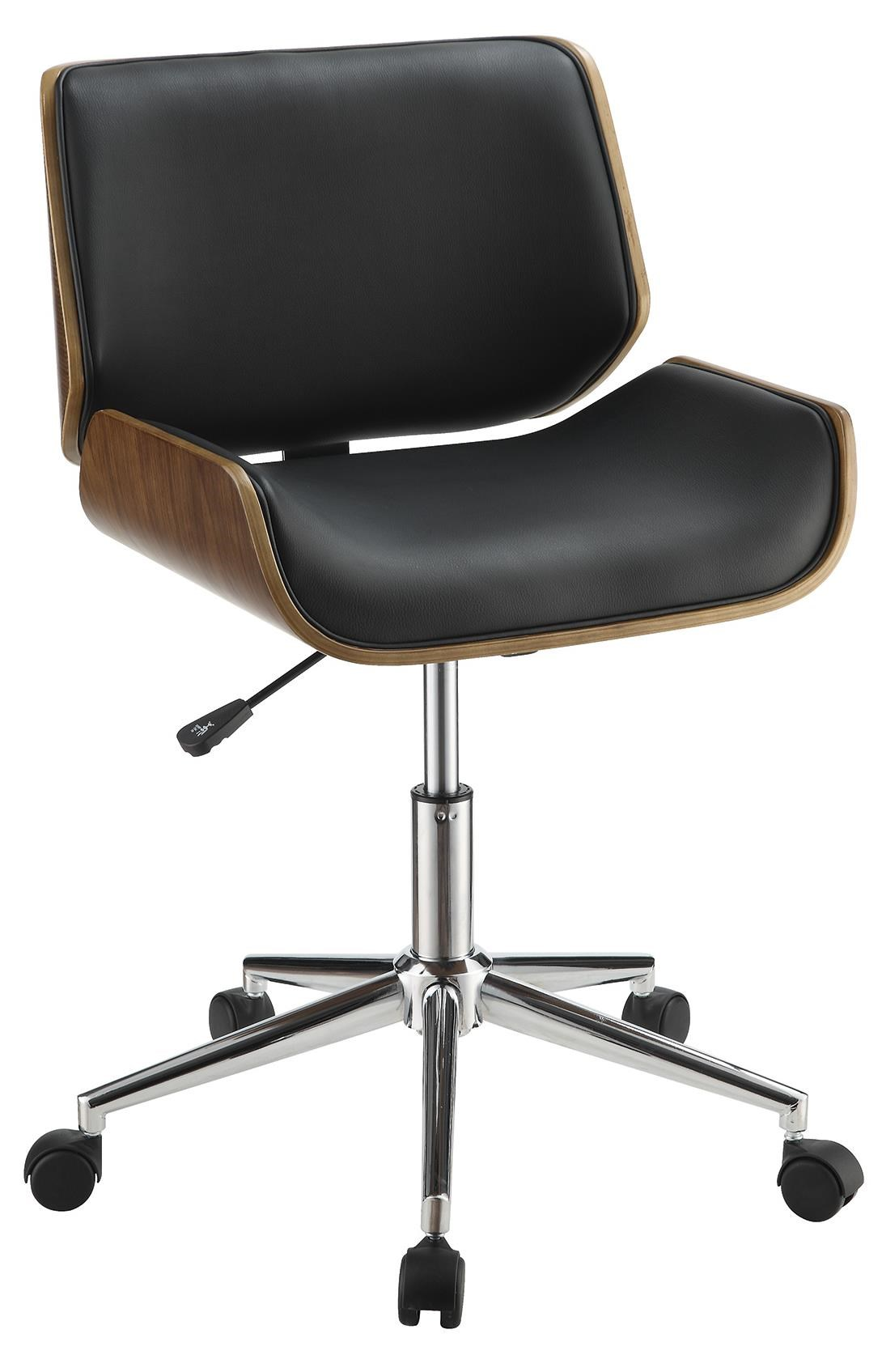 Coaster fice Chairs Contemporary Leatherette fice Chair