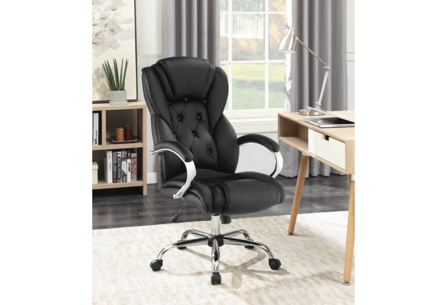 Michael Alan Csr Select Office Chairs 800879 Executive Office Chair With Tufted Back Michael Alan Furniture Design Executive Desk Chairs