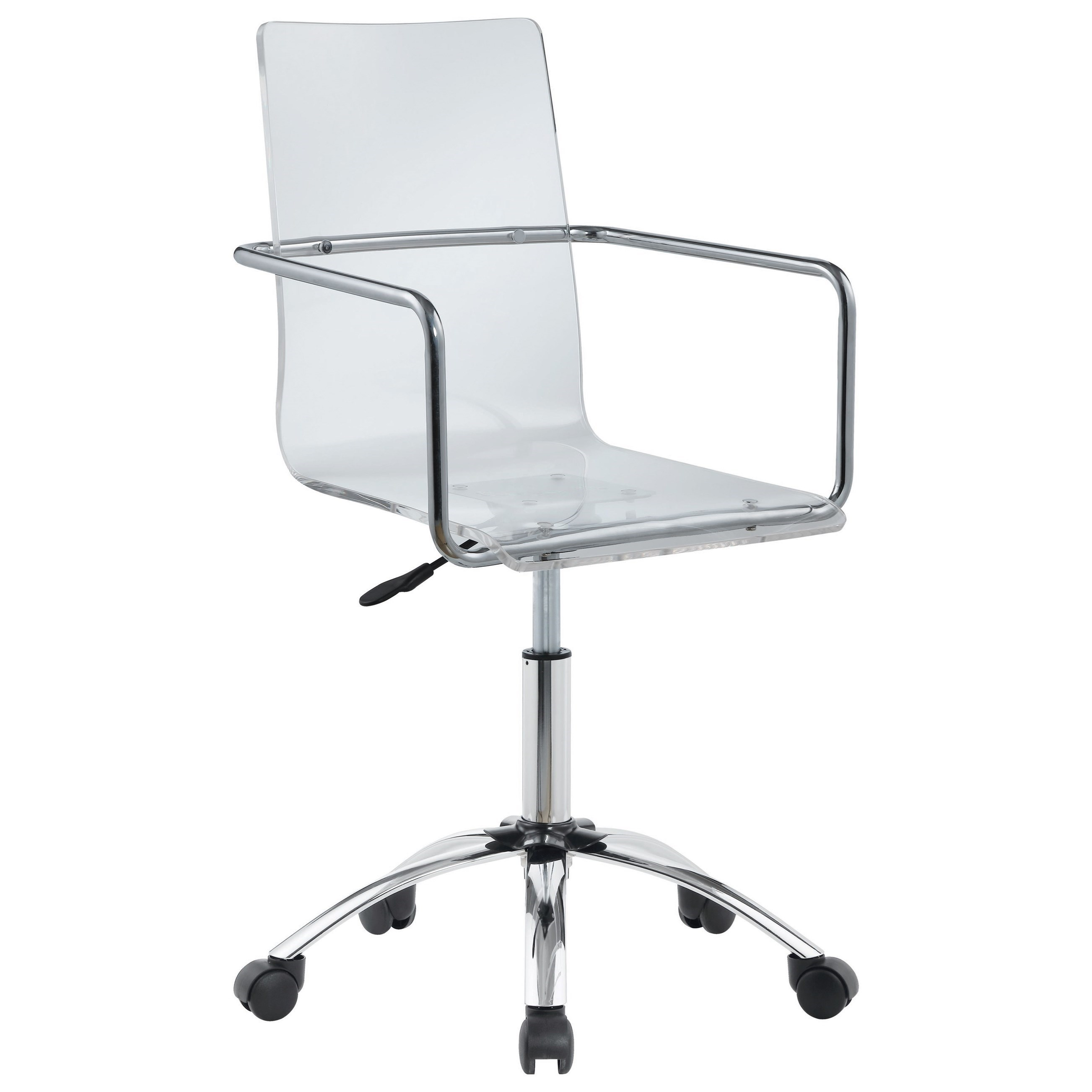 acrylic office chairs. Coaster Office ChairsOffice Chair Acrylic Office Chairs Y