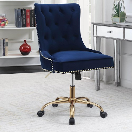 Coaster Office Chairs Office Chair with Tufted Back and Casters