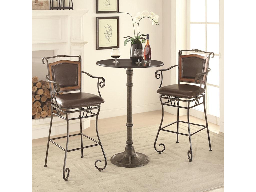 Coaster OswegoPub Table Set
