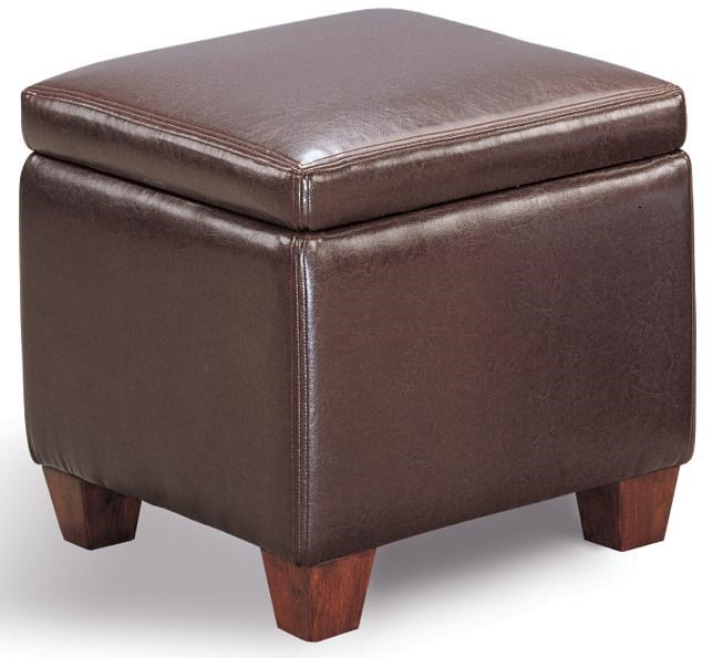 Shown in Dark Brown Faux Leather
