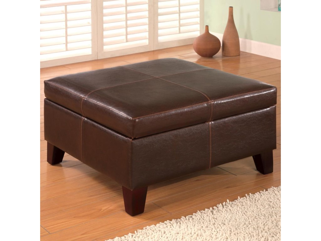 lr ottomans storage brown ottoman product ridgeville oto