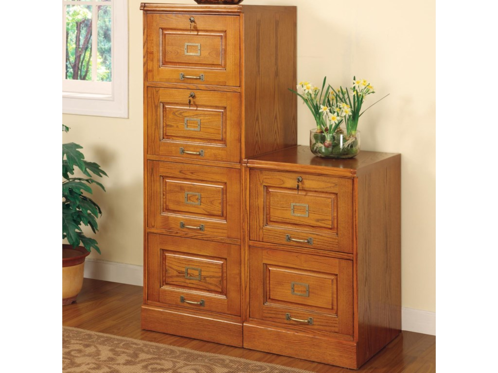 Coaster PalmettoFile Cabinet with 2 Drawers