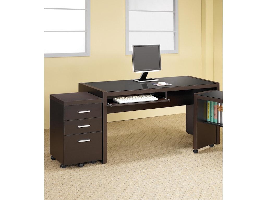 Coaster Skylar2 PC Home Office Set