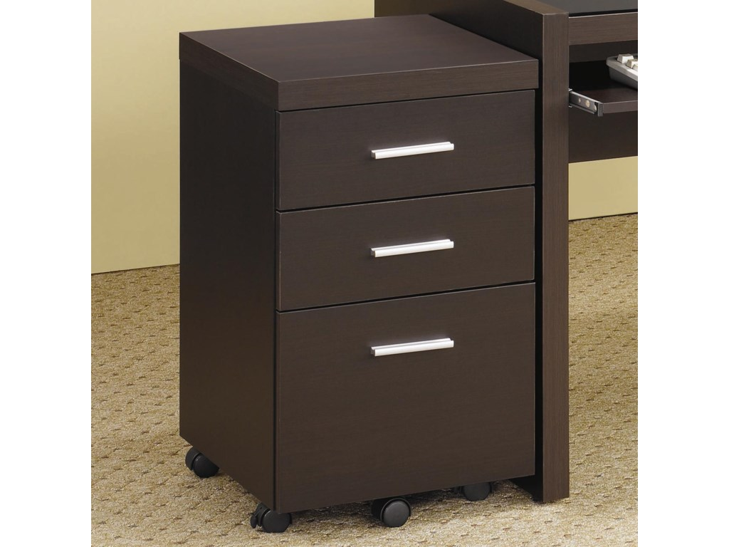 Skylar File Cabinet With 3 Drawers By Coaster