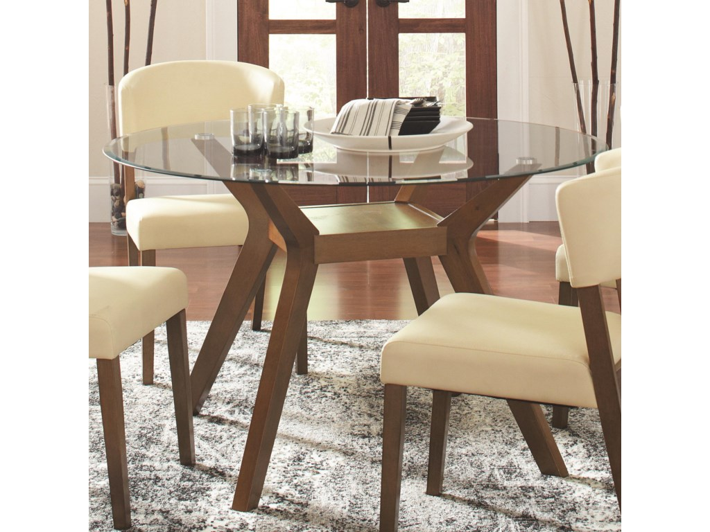 Coaster Paxton 12218Round Dining Table Set