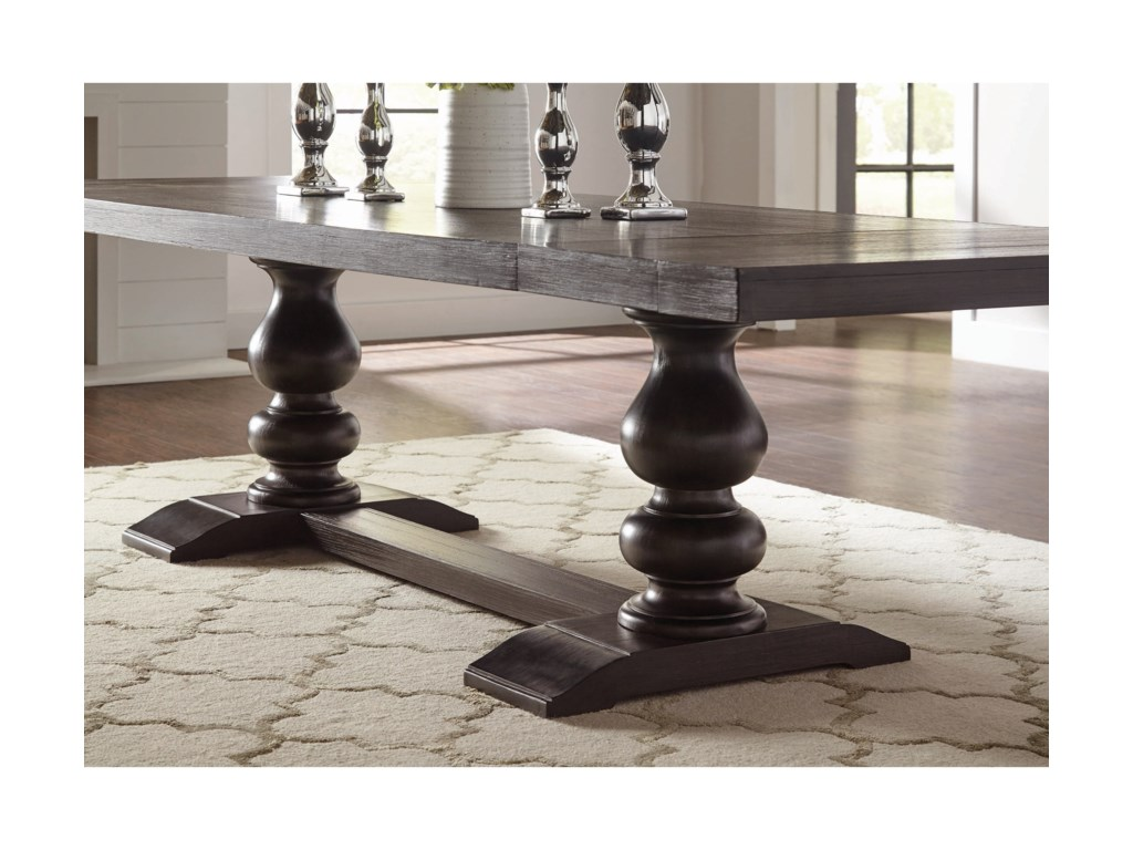 Phelps Transitional Rectangular Dining Room Table With 2 Leaf Extensions By Coaster