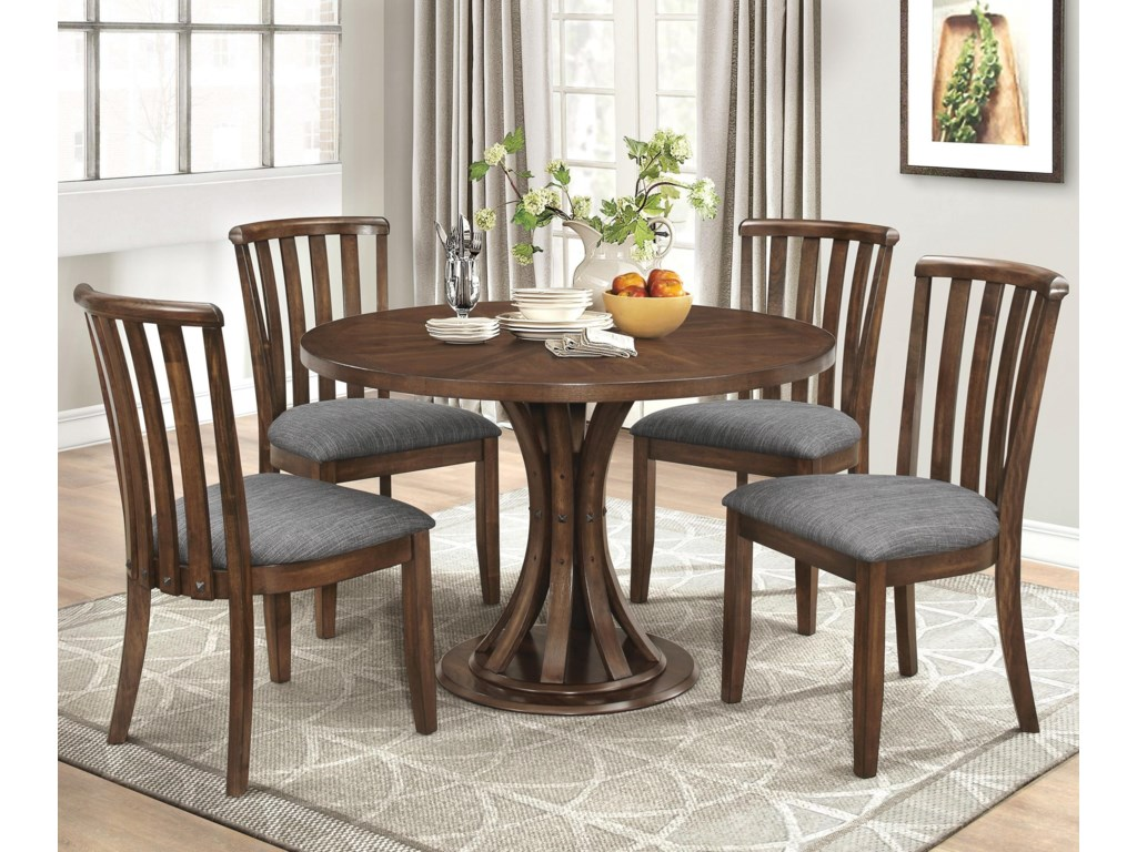 Coaster Prescott5 Pc Casual Dining Set