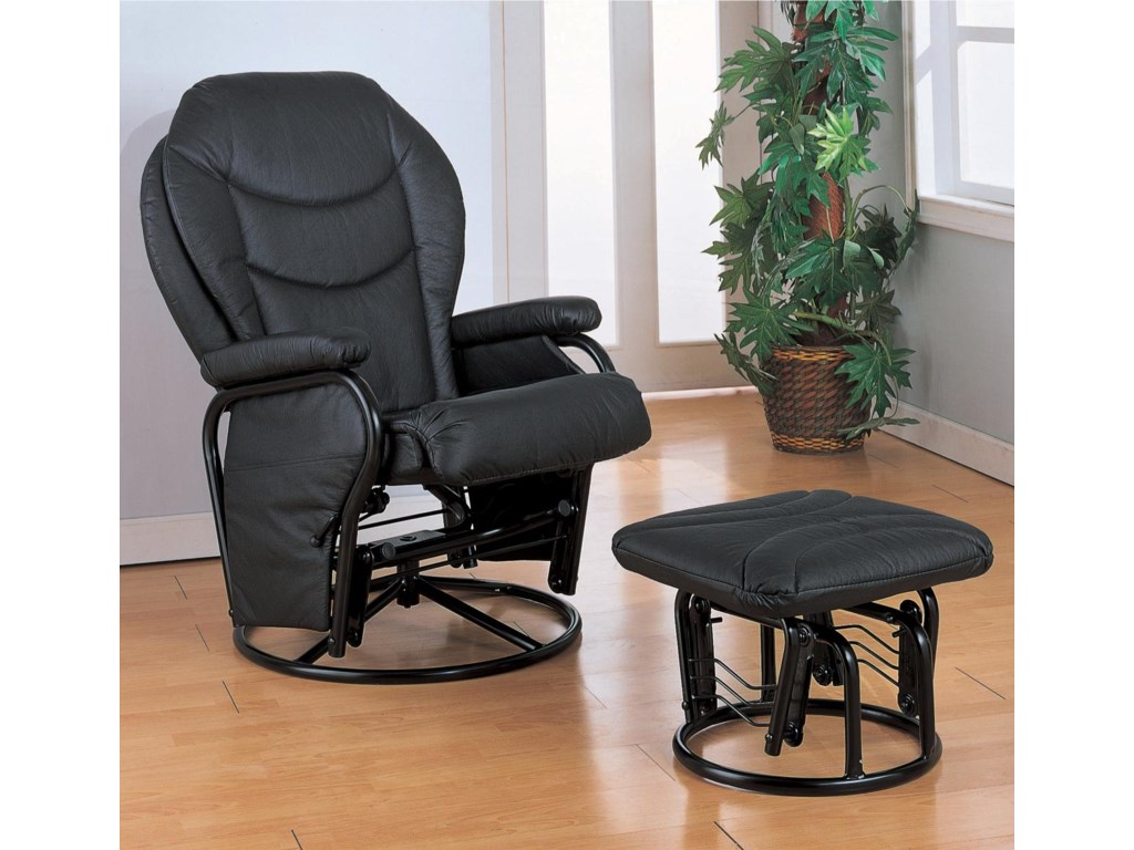 Coaster Recliners with OttomansRecliner with Ottoman