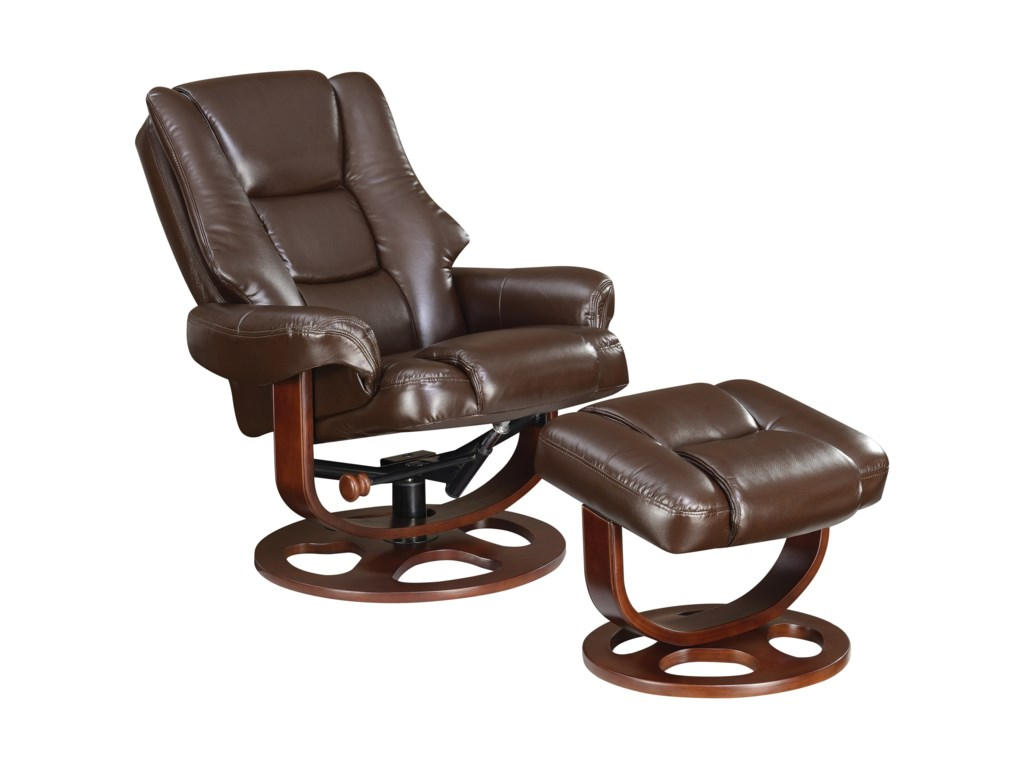 Coaster Recliners with OttomansChair With Ottoman