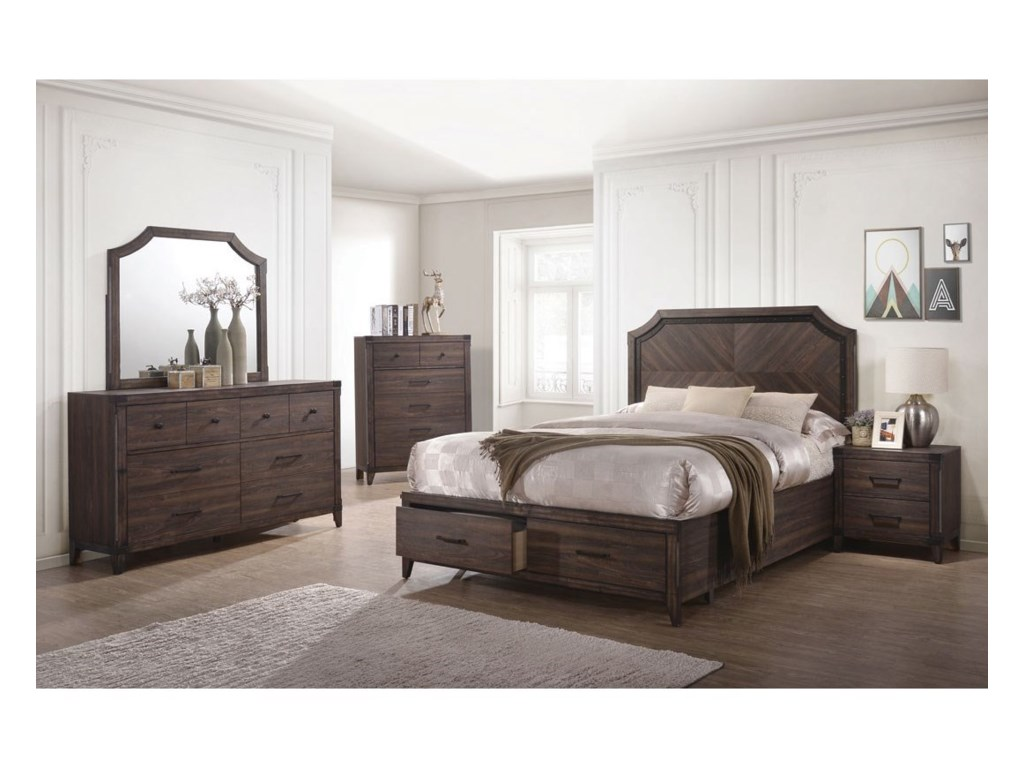 Coaster Richmond Queen Bedroom Group | Dunk & Bright Furniture ...