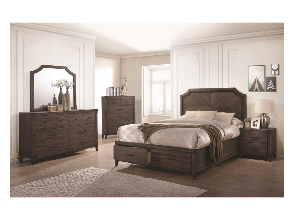 Coaster RichmondQueen Platform Bed