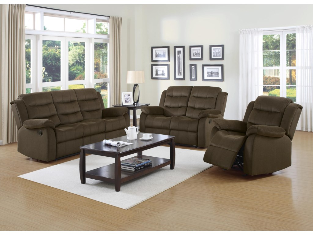 Coaster RodmanReclining Living Room Group