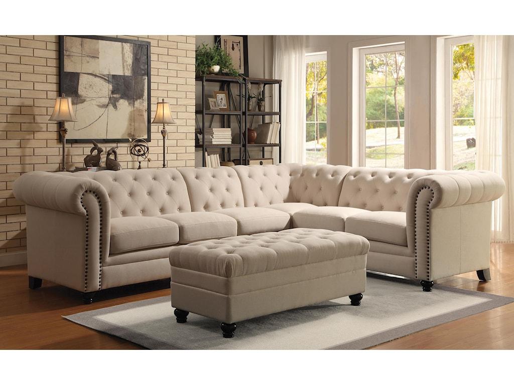Coaster RoyStationary Living Room Group