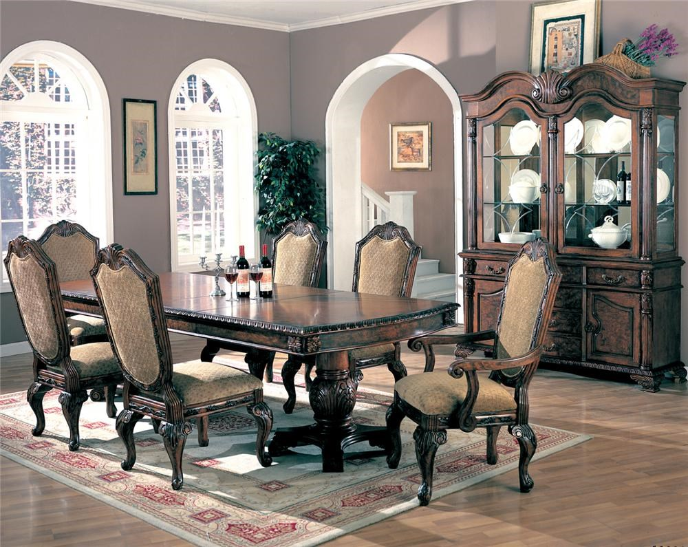 Coaster Saint Charles 7 Piece Dining Set