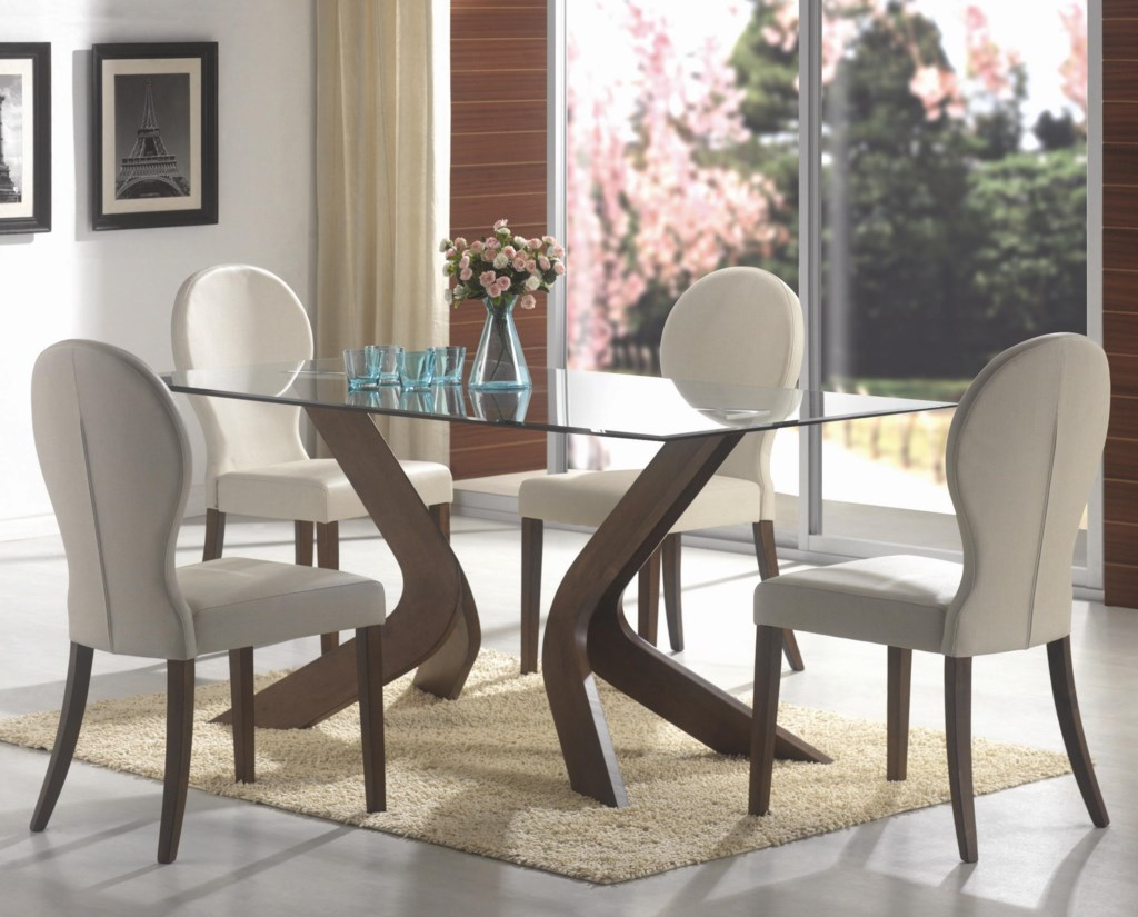 Coaster San Vicente Five Piece Dining Set Miskelly Furniture