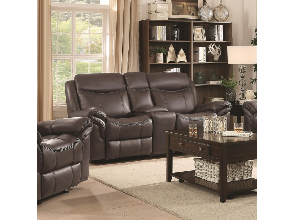 Coaster Sawyer MotionGlider Motion Loveseat