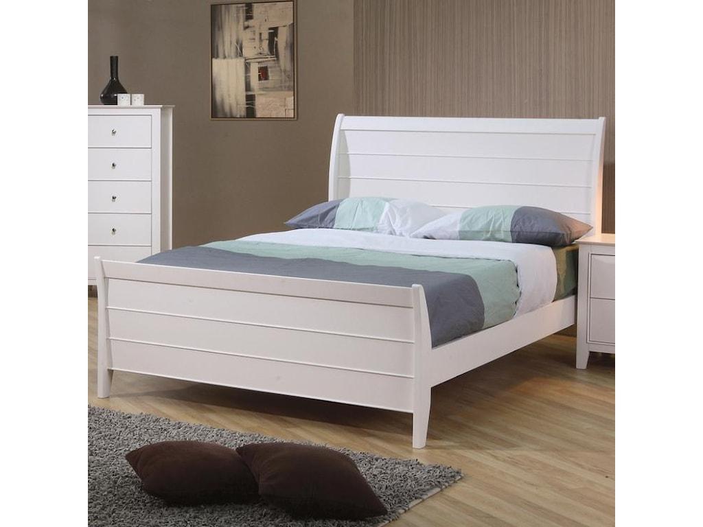 Coaster SelenaTwin Sleigh Bed