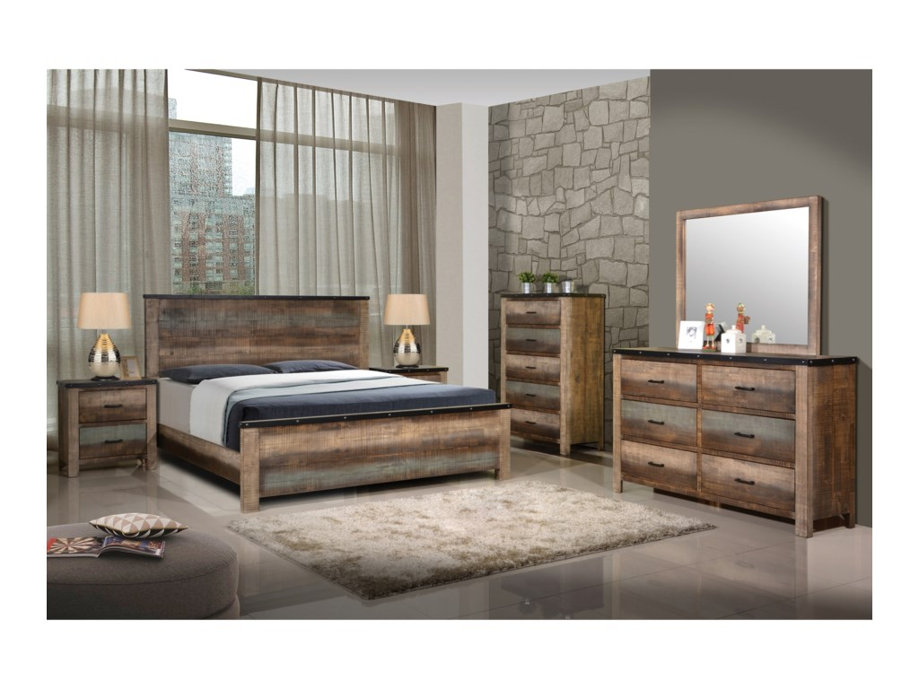 Coaster Sembene King Bedroom Group | Dunk & Bright Furniture ...