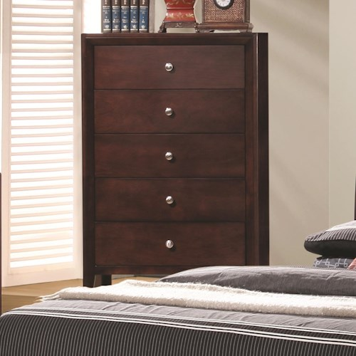 Coaster Serenity  5 Drawer Chest
