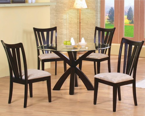 Coaster Shoemaker 5 Piece Dining Set