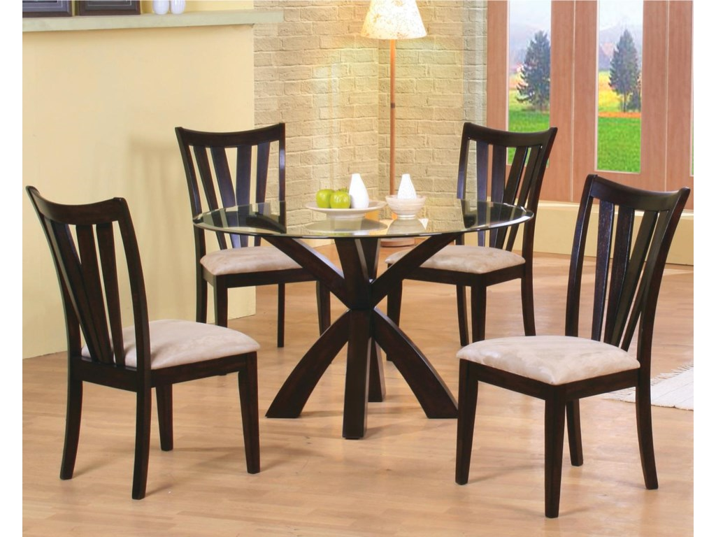 Shown in Room Setting with Side Chairs