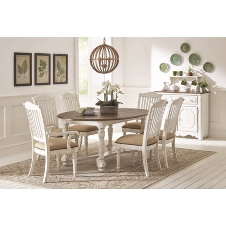 Dining Room Group with Oval Table
