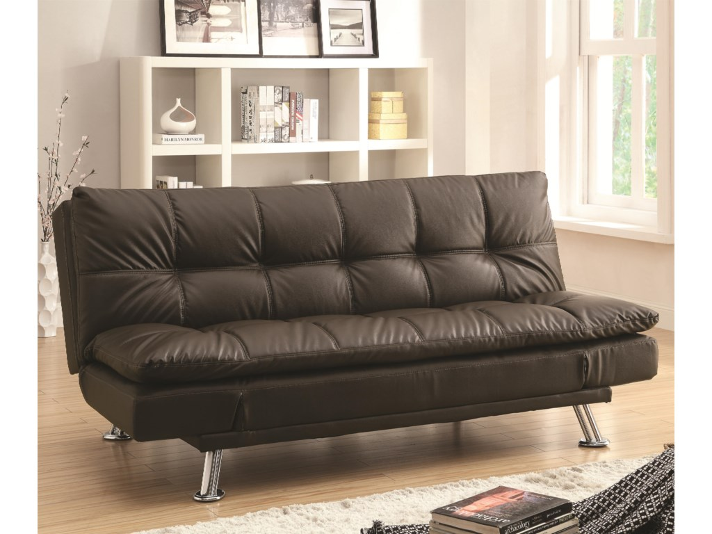 Coaster Dillestonsofa Bed In Futon Style