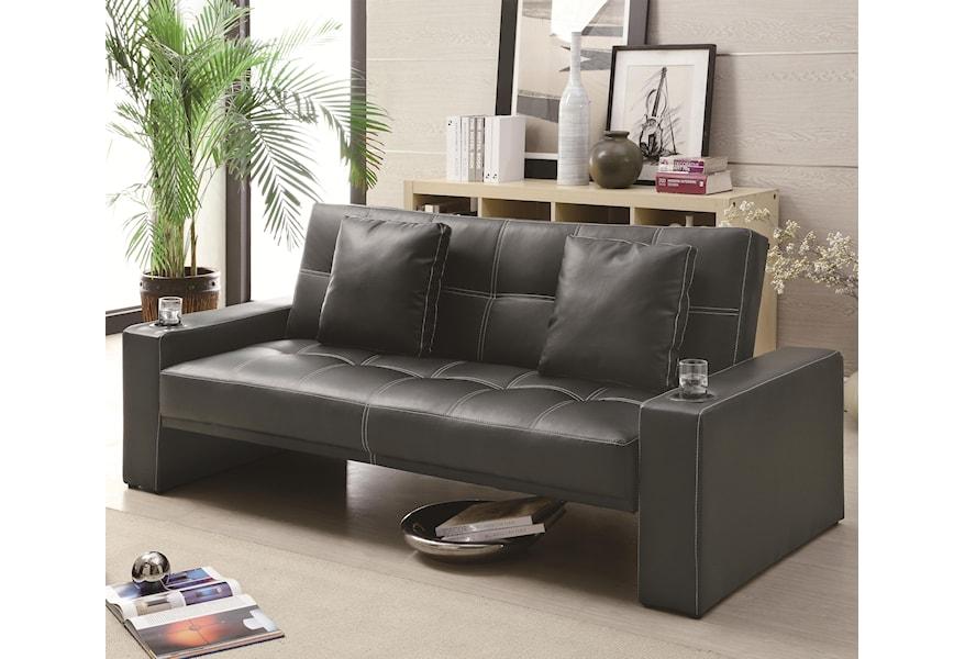 Futons 300125 Futon Styled Sofa Sleeper