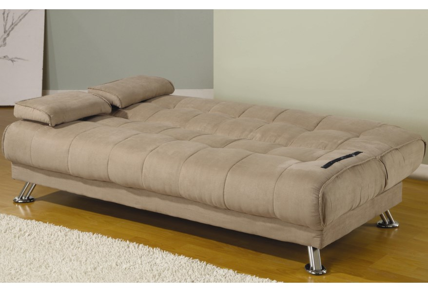 Futons Fabric Convertible Sofa Bed