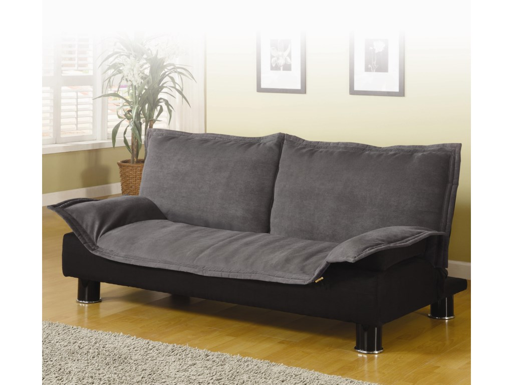 Shown in Grey Microfiber