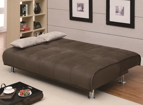 Coaster Sofa Beds and Futons Transitional Styled Futon
