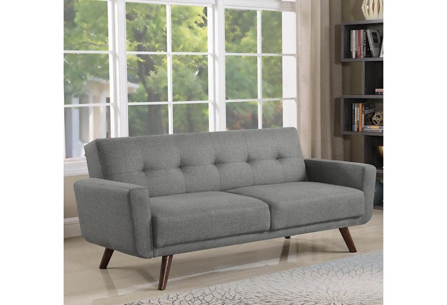 Futons Mid Century Modern Sofa Bed