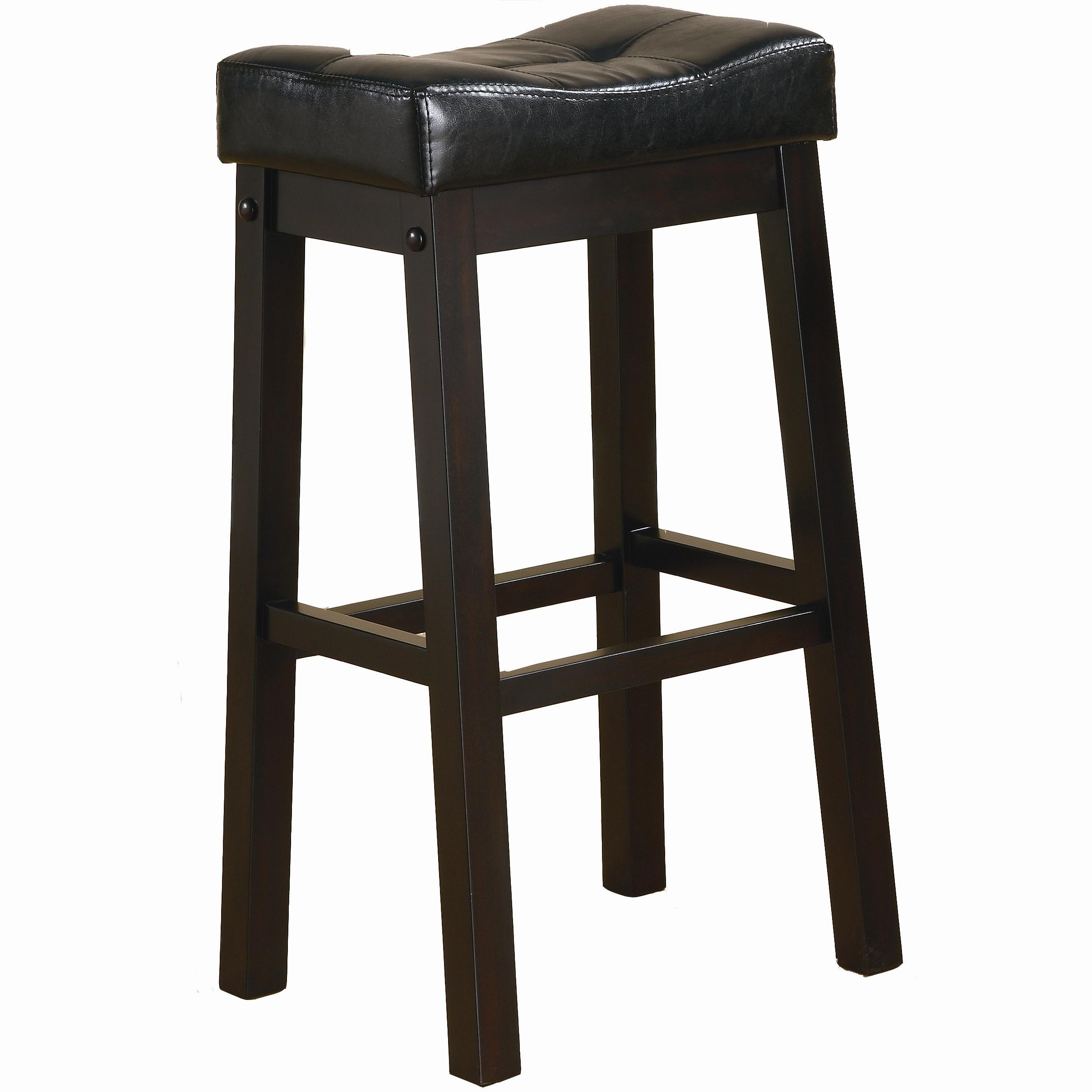 """29"""" Bar Stool with Plush Upholstered Seat"""