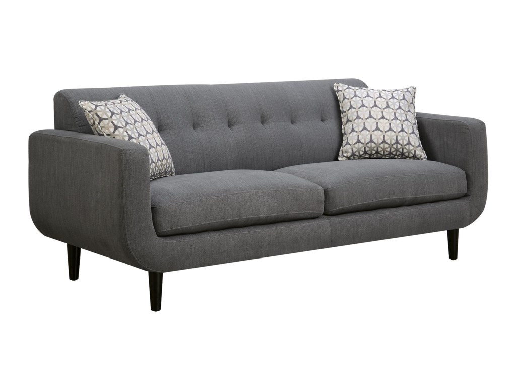 Coaster Stansall Mid Century Modern Sofa | Value City Furniture | Sofas