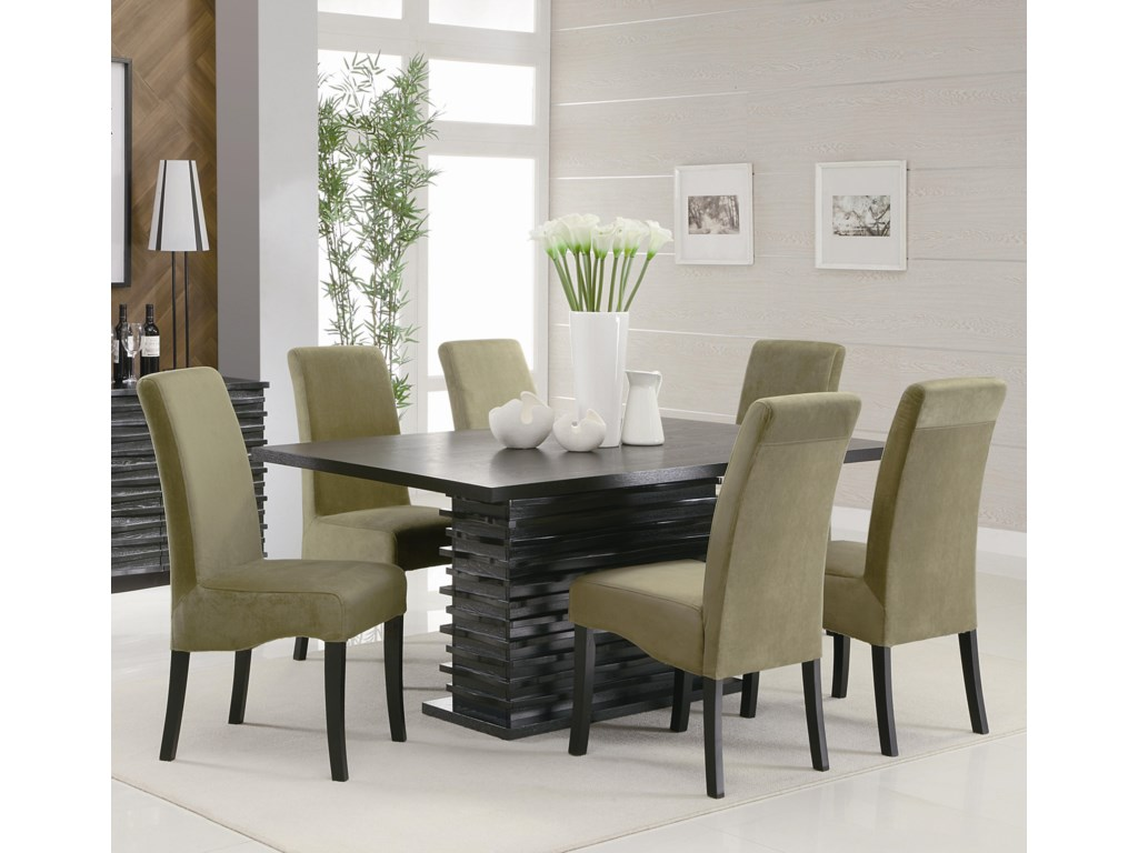 Stanton Contemporary Dining Table By Coaster At Rife S Home Furniture