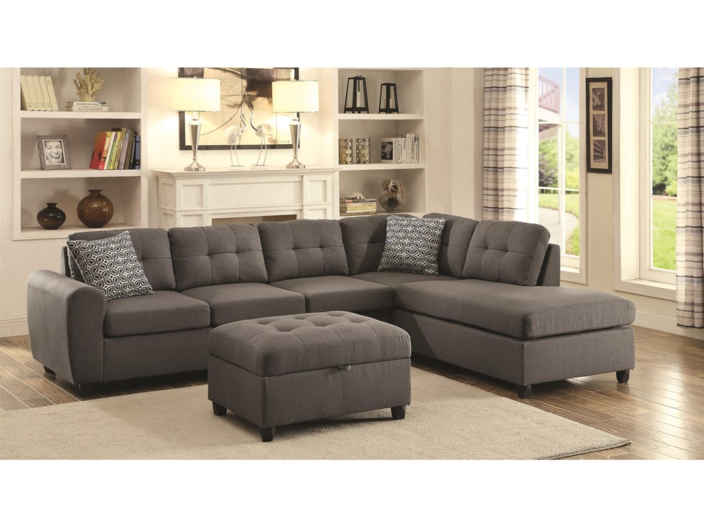 Coaster StonenesseSectional