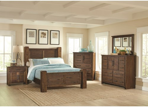 Coaster Sutter Creek California King Bedroom Group