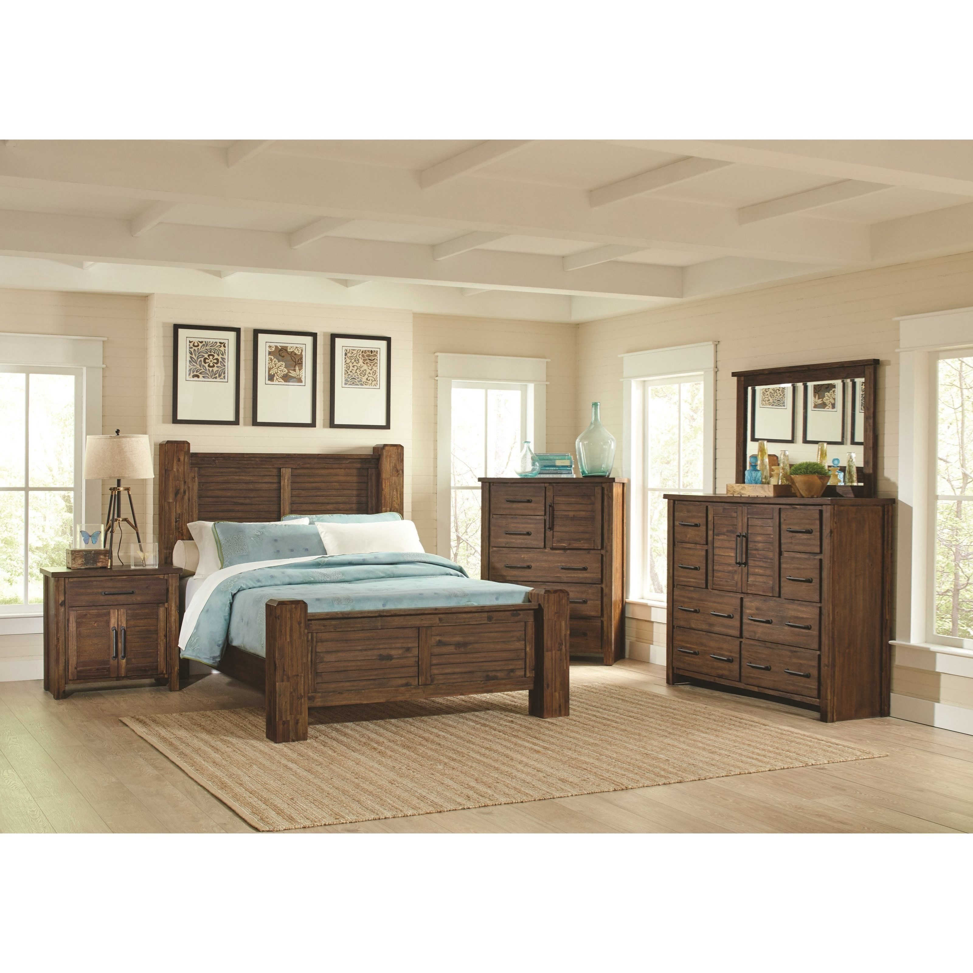 Coaster Sutter Creek Queen Bedroom Group