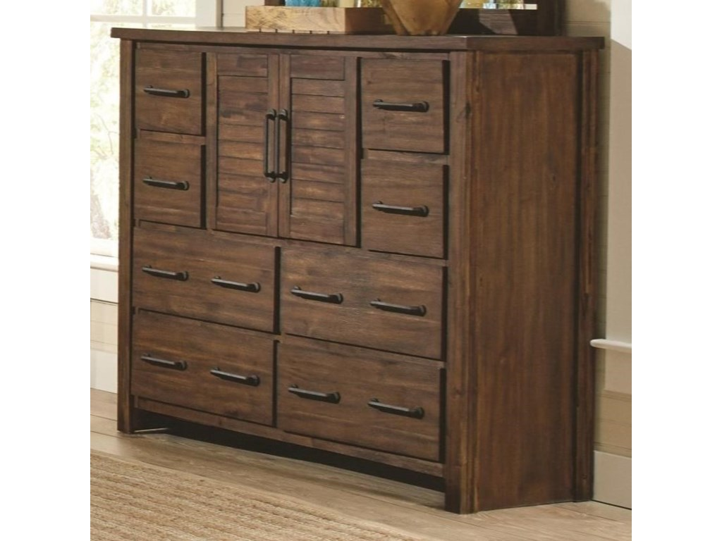 mid dresser aspect modern width height chairish fit century doors product with wicker